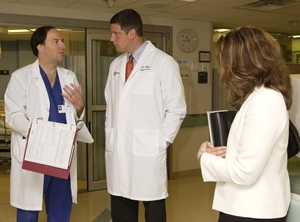 Ohio ACEP Past-President hosts US Congressman Tim Ryan at his emergency department for a