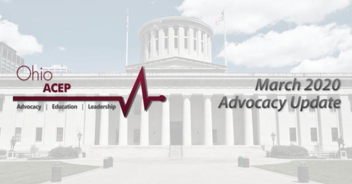 March 2020 Advocacy Update header