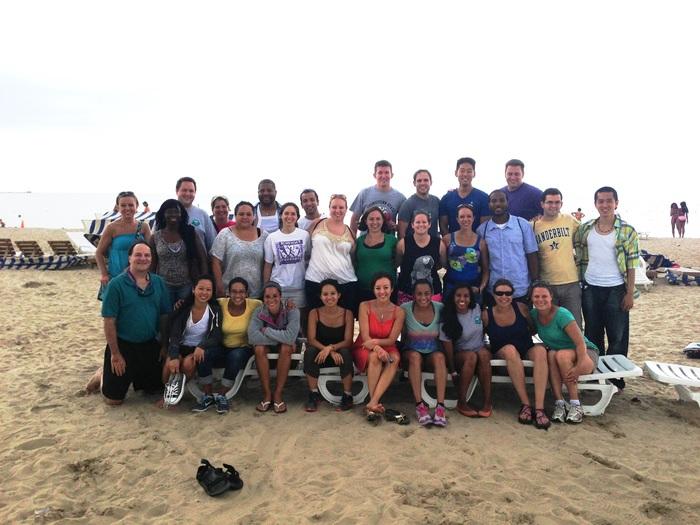Residents at Cedar Point